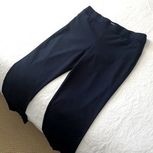 Coral Bay Black High Rise Stretch Pull On Pants 16